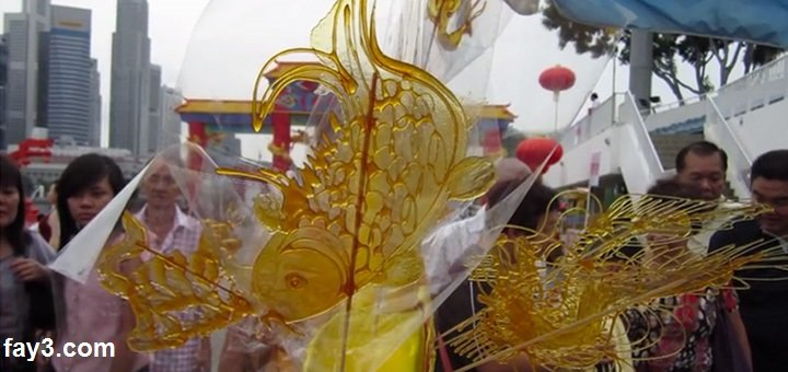 فن الرسم بالكراميل في الصين بلد العجائب صوره رقم 2