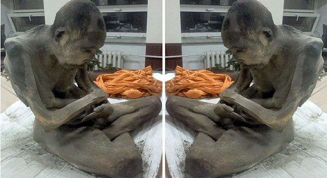 """منغوليا: العثور على راهب محنط \""""يتأمل\"""" منذ مائتي عام"""