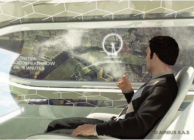صور طائرة #إيرباص المستقبلية - صورة ٣