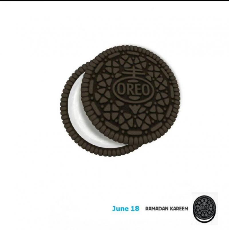 إعلان #Oreo في #رمضان #تسويق