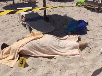 صور مذبحة #القنطاوي في #تونس التي بلغ عدد ضحاياها 37