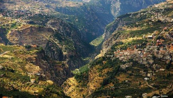 وادي قنوبين #لبنان