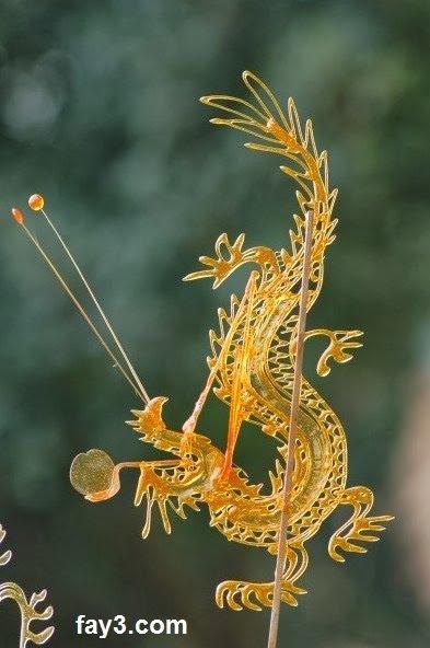 فن الرسم بالكراميل في الصين بلد العجائب صوره رقم 1