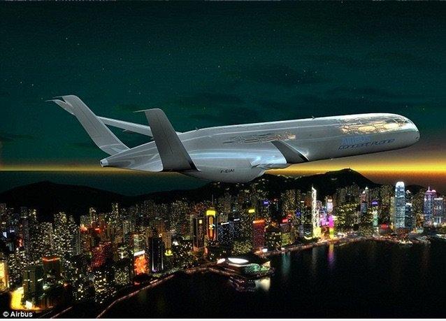 صور طائرة #إيرباص المستقبلية - صورة ١