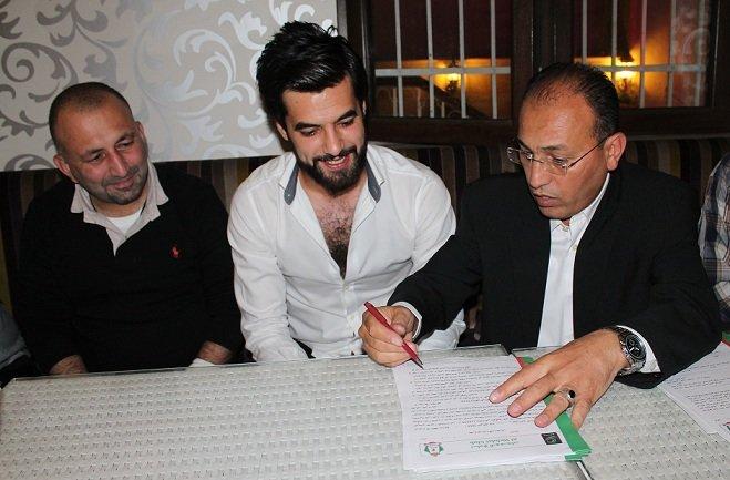 الوحدات يحصل رسمياً على توقيع محمد الباشا #الوحدات