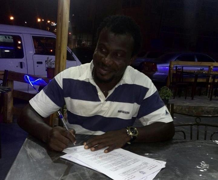 النيجيري ايفوسا يوقع رسمياً لذات راس الأردني #كوره