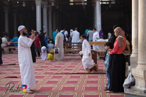 #صلاة_العيد فى مسجد #عمرو_بن_العاص.. أول مسجد فى القاهرة صوره رقم 3 #العيد