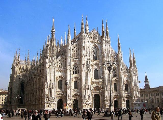 مدينة #ميلانو #ايطاليا