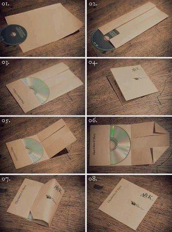 طريقة بسيطة لعمل غلاف للاسطوانات الرقمية