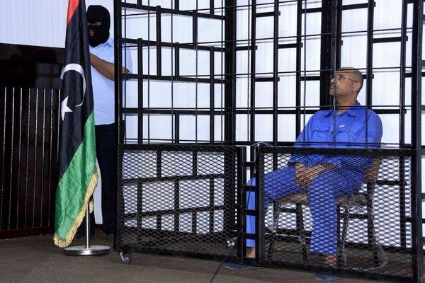 محكمة طرابلس تحكم بالإعدام على سيف الإسلام القذافي غيابيا