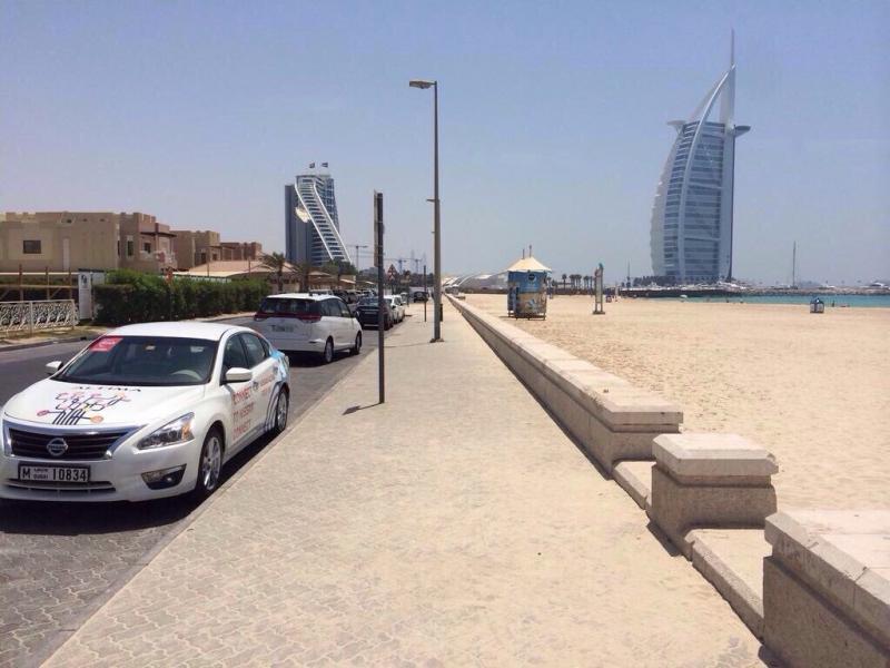 تصفح الانترنت مجانا في سيارات ألتيما #دبي ٢