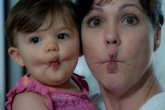 عندما يكون الهبل وراثة بين الأم وطفلها - صورة 2