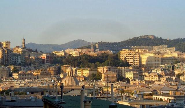 مدينة #جنوة #ايطاليا