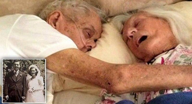 زوجان أمريكيان يتوفيان في أحضان بعض يوم عيد زواجهما 75