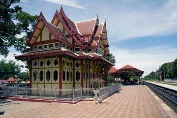 #تايلاند #هواهين محطه قطار هواهين