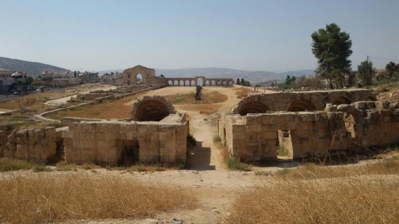 ساحة جرش #جرش #الأردن - صورة 6