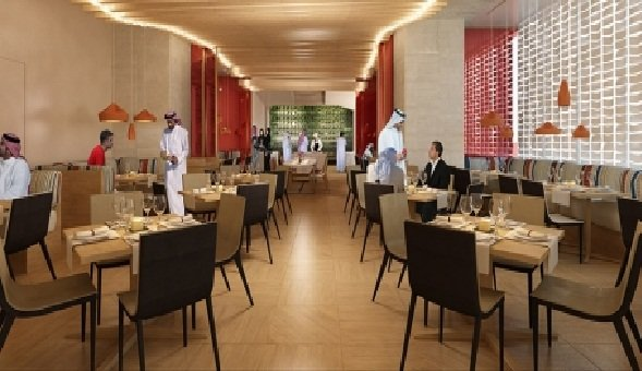 مطعم ذا ماركت بلاس فندق نوبو ، #برج_العنود 2- شارع الملك فهد ، العلية #الرياض