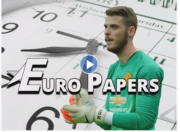 يورو بيبرز: دي خيا في #ريال_مدريد خلال اسبوع