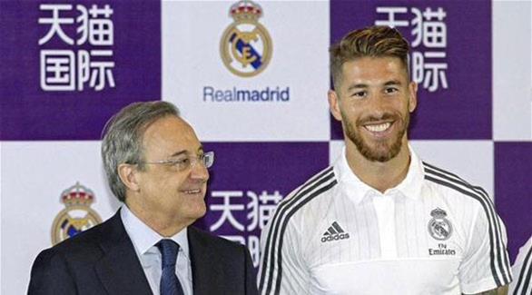 راموس يجدد عقده مع ريال مدريد حتى 2020 #ريال_مدريد