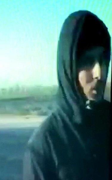 الإرهابي محمد أموازي #الجهادي_جون يظهر للعلن مكشوف الوجه