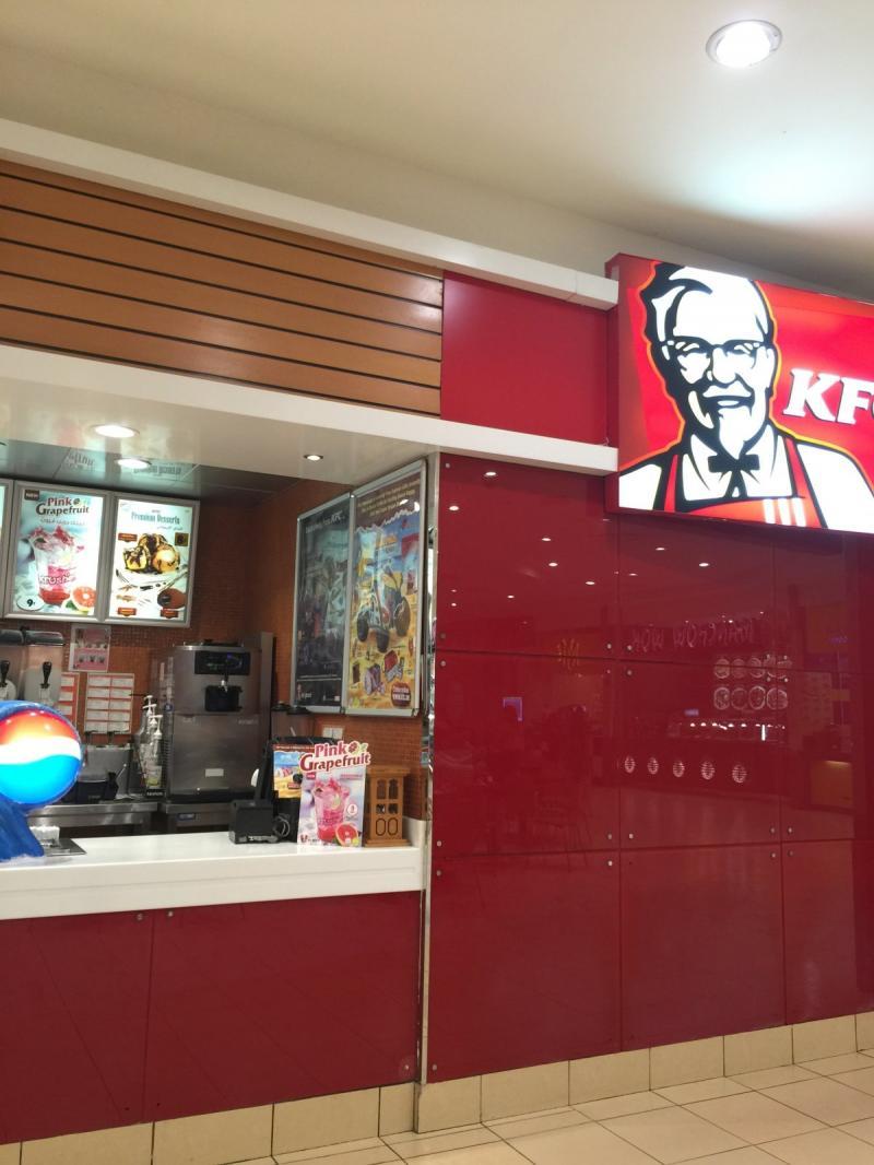 مطعم كي اف سي خالدية مول #أبوظبي