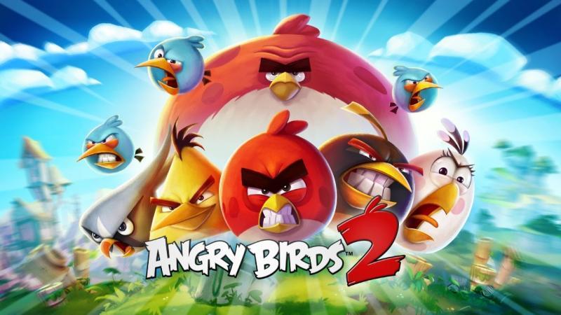 واجهة لعبة #Angry_Birds