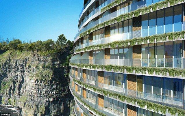 #الصين تبدأ في بناء فندق فخم تحت الارض #غرد_بصوره صوره 3
