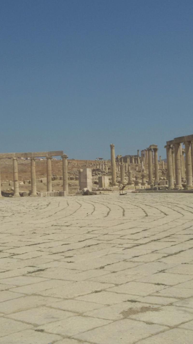 ساحة جرش #جرش #الأردن - صورة 2