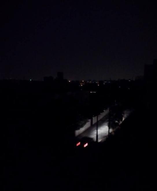 انقطاع التيار الكهربائي في عدد من مناطق العاصمة #العاصفه_الرمليه #الأردن #عمان