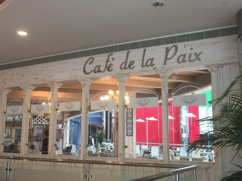 Cafe de la paix كافيه دي لا بيه - مارينا مول #أبوظبي