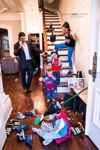 إضحك مع أطرف صور لـ معاناة العائلة الحديثة هذه الأيام مع أولادهم #غرد_بصوره رقم 6