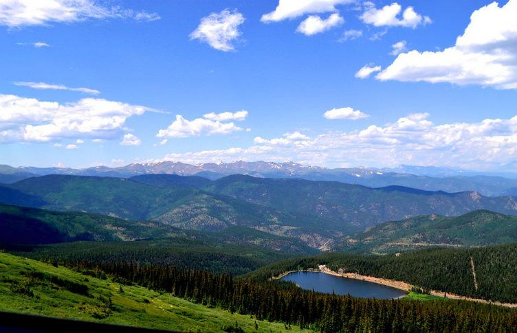 جبل إفانس #كولورادو #الولايات_المتحدة