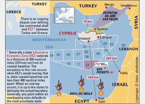 أعلنت شركة إيني الإيطالية أن حجم الغاز المكتشف في #مصر يتجاوز ٣٠ تريليون قدم مكعب