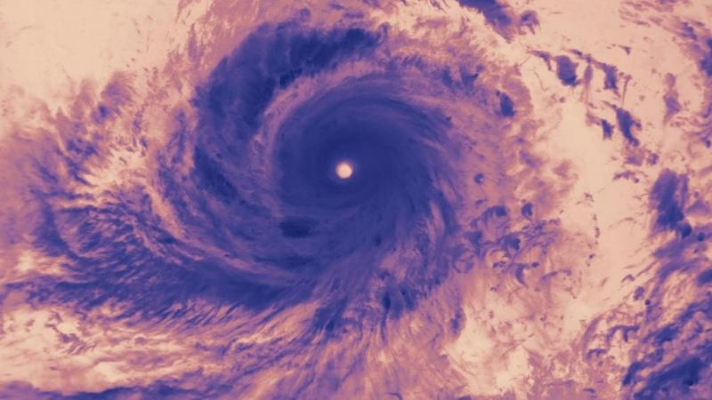 اعصار سوديلور اثناء اقترابه من #تايوان - صورة ٤