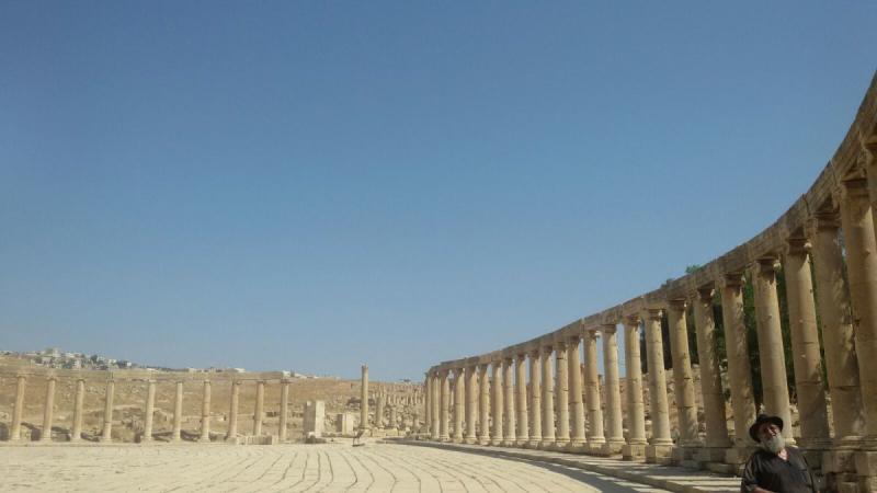 ساحة جرش #جرش #الأردن - صورة 4