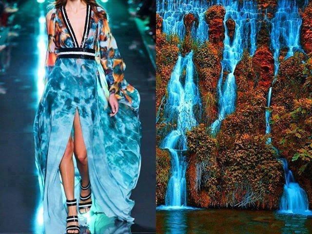 تصاميم أزياء مستوحاة من الطبيعة #ستايل #موضه -صورة 4
