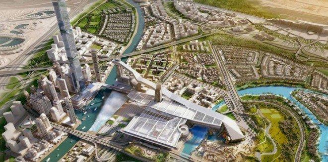دبي تباشر بناء أطول منحدر تزلج في العالم #الامارات صوره رقم 1