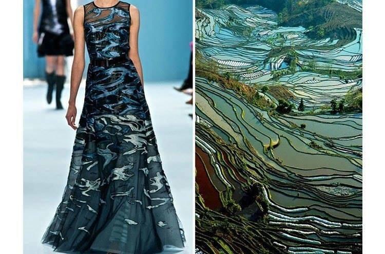 مصممو الأزياء يختلسون أفكارهم من الطبيعة #ازياء صوره رقم 8