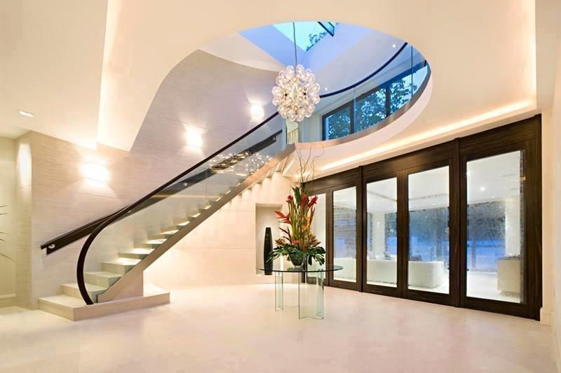 التصاميم الجميلة من السلالم الخاصة بالمنازل #غرد_بصوره صوره رقم 8