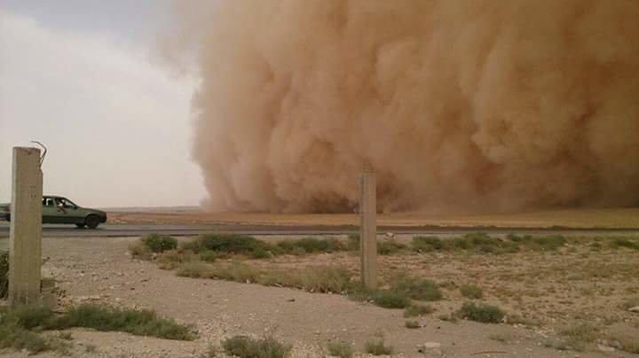 صوره من الطريق الصحراوي #عمان