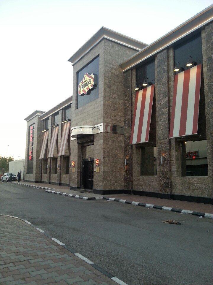 مطعم تي جي أي فرايدايز - التخصصي ، شارع التخصصي ، المعذر الشمالي #الرياض