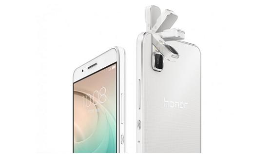 هواوي تكشف عن هاتفها الذكي Honor 7i مع كاميرا قابلة للدوران #تقنيه