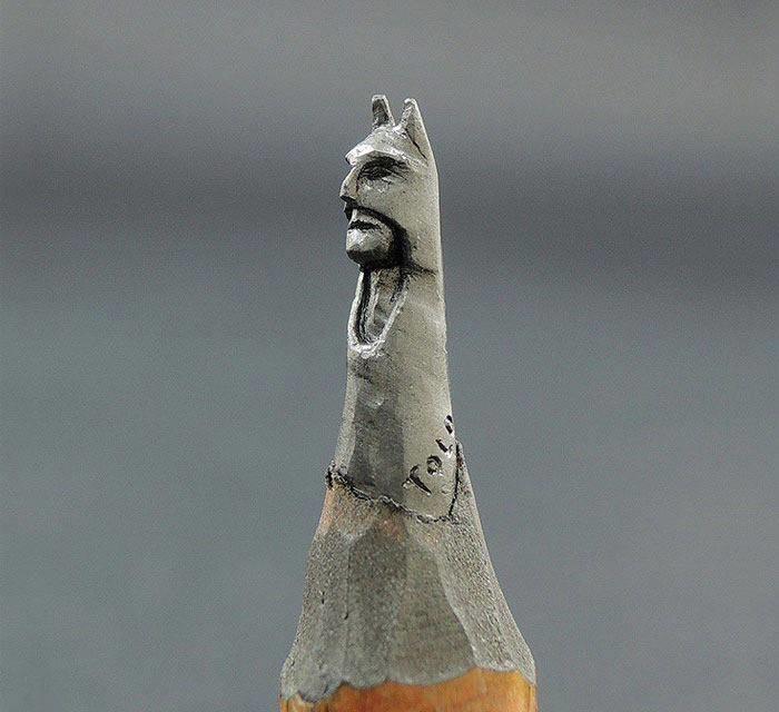 عندما تتحول أقلام الرصاص إلى تماثيل #ابداع #غرد_بصوره صوره رقم1