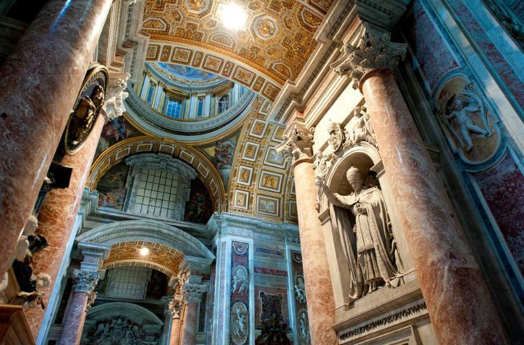 كاتدرائية القديس بطرس #الفاتيكان