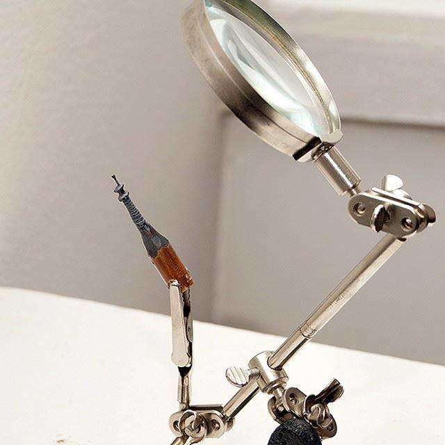 عندما تتحول أقلام الرصاص إلى تماثيل #ابداع #غرد_بصوره صوره رقم5