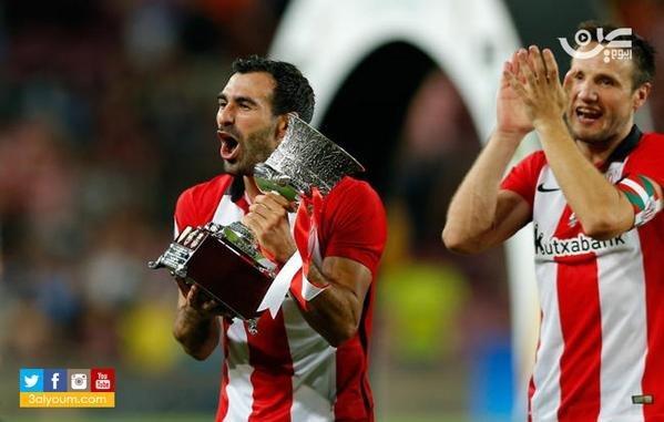 بيلباو يعانق كأس السوبر الإسباني بعد 31 عاما في معقل برشلونة