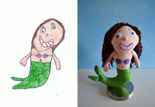 فنان يحول رسومات الصغار إلى ألعاب حقيقة #غرد_بصورة-صورة6