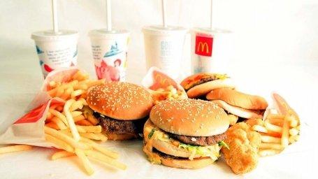 مطعم ماكدونالد شارع الملك عبدالله #الرياض