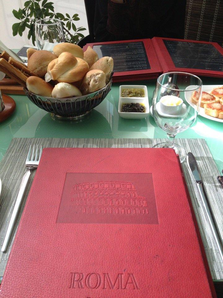 مطعم روما شعبة بن الحجاج ، العلية #الرياض