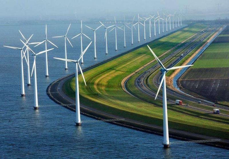 أحد الطرق السريعة في #هولندا